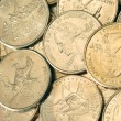 25 CENT COINS new state — Stock Photo