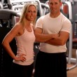 Fitness couple — Stock fotografie