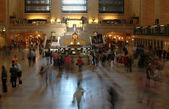 Grand central rush — Stock Photo