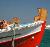 Fishing boat bow — Stock Photo