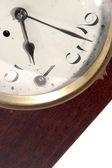 Antyczny zegar stawić czoło — Zdjęcie stockowe