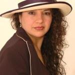 Beautiful latina woman — Stock Photo