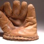 Antique baseball glove — Stock Photo #23021372