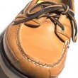 Rugged quality leather moccasin — Stock Photo #23024828