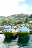 Isla ferries — Foto de Stock