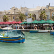 Marsaxlokk ancient fishing village maltmediterranean — Stock Photo #23039516