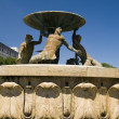 Triton fountain valletta malta — Stock Photo