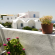 Cyclades architecture greek island santorini — Stock Photo