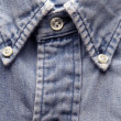Old worn denim shirt — Stock Photo