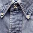 Stock Photo: Old worn denim shirt