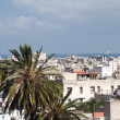 Rooftop view casablanca morocco harbor and medina — Stock Photo