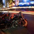 Stock Photo: Night scene ocedrive editorial miami