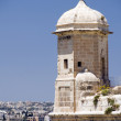 Sentry post lookout senglea malta valletta — ストック写真