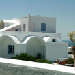 Cyclades greek architecture — Stock Photo