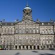 Royal palace dam square amsterdam holland — Stock Photo #23043670