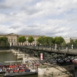 Stock Photo: Pont de arts bridge paris france