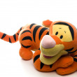 Stock Photo: Stuffed animal tiger toy