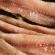 Flat fillets of anchovies - Stock Photo