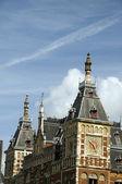 Dettaglio centraal station amsterdam — Foto Stock