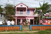 Downtown scene brig bar corn island nicaragua — Stock Photo