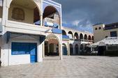 Miasto kwadratowych essaouira maroko — Zdjęcie stockowe