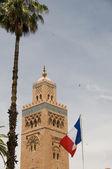 Maroko marrakech mešita koutubia — Stock fotografie