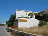 Cyclades greek island architecture on paros island — Stock Photo
