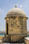 Sentry post senglea fortification valletta malta — Stock Photo