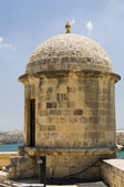 Sentry post senglea fortification valletta malta — Stock Photo