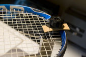 Restring tennis racket — Stock Photo