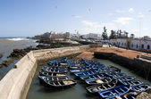 View of medina and old city essaouira morocco africa — Stock Photo