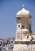 Sentry post lookout senglea malta valletta — Stock Photo