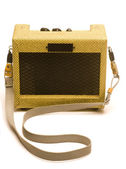Estilo retro mini amplificador de guitarra — Fotografia Stock