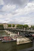 Pont de kunst brücke paris frankreich — Stockfoto