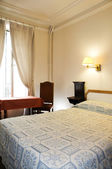 Two star hotel room paris france — Stock Photo