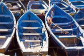Bateaux de pêche native de port essaouira maroc afrique — Photo