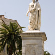 Statue napoleon bonaparte ajaccio corsica france — Stock Photo