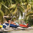 Colorful fishing boat bequia st. vincent and the grenadines — Stock Photo #23056898