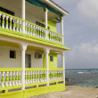 Colorful building waterfront Big Corn Island Nicaragua — Stock Photo
