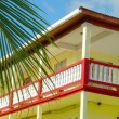 Typical architecture caribbean island bequia st. vincent — Stock Photo #23057106