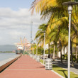 Waterfront development program port of spain trinidad and tobago — Stock Photo