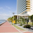 Waterfront development program port of spain trinidad — Stock Photo