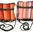 Woven bag purse made in Nicaragua — Stock Photo