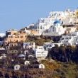 Town of Imerovigli on the volcanic cliffs of Santorini — Stock Photo #23057698