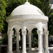 Dome gazebo agia napa greek orthodox cathedral lemesos cyprus - Stock Photo