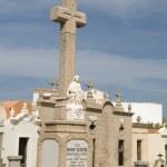 Постер, плакат: Religious monument mausoleums marine cemetery graveyard bonifacio