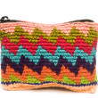 Colorful change purse made in guatemala central america — Stock Photo