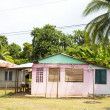 Colorful building mini market Corn Island Nicaragua — Stock Photo