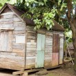 Stock Photo: Original 90 year old Caribbestyle house Corn Island Nicaragua