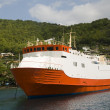 Commuter transport ferry bequia st. vincent — Stok fotoğraf